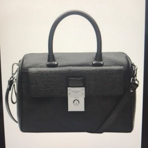 Ted Baker Manning Leather Lock Duffle Bag